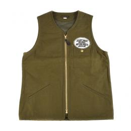 ON THE ROAD VEST  OLIVE
