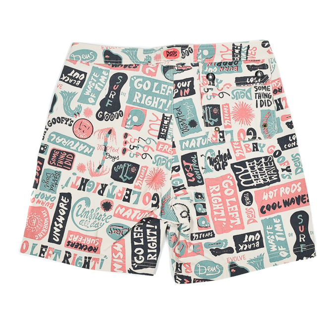 DEUS EX MACHINA   UNSHORE BOARD SHORT