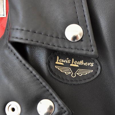 "[LEWIS LEATHERS 391T ""TIGHT FIT LIGHTNING""]"