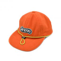 FAF ROCKY  6PANEL CAP FLEECE [ORANGE]