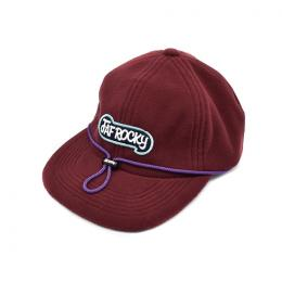 FAF ROCKY  6PANEL CAP FLEECE [WINE]