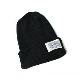 KNIT CAP P-19/BLACK