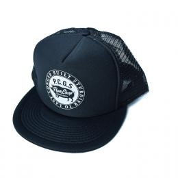 CIRCLE PORK CAP/BLACK
