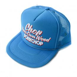 CHOP YOUR OWN WOOD CAP TURQUOISE BLUE